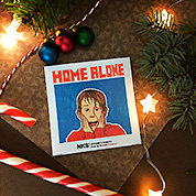 Стикер NKS: HOME ALONE