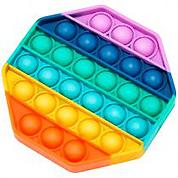 Игрушка-антистресс Pop It Восьмиугольник (разноцветная)