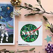 Стикер NKS: NASA