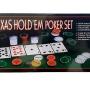 Набор для покера: Holdem Light на 200 фишек с номиналом