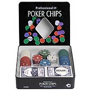 Набор для покера: Holdem Light на 100 фишек с номиналом