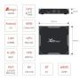 X96Max+ Смарт-ТВ приставка 4/32Gb Android 9.0