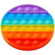 Игрушка-антистресс Pop It Круг (разноцветная)