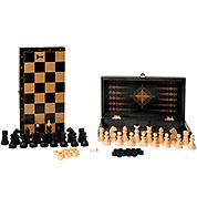 3в1: Шахматы, шашки, нарды. 29х29см